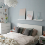 Tikkurila Color Now – paleta Hazy / Metamorfoza sypialni
