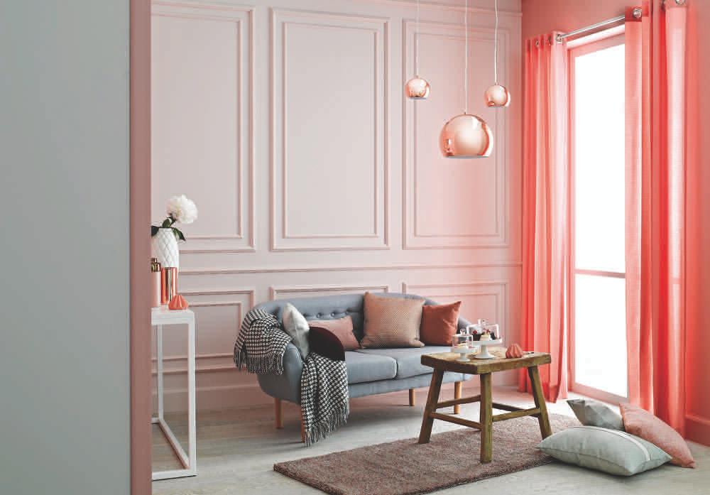 efekt końcowy przeprowadzonej metamorfozy mieszkania z wykorzystaniem farb Tikkurila.