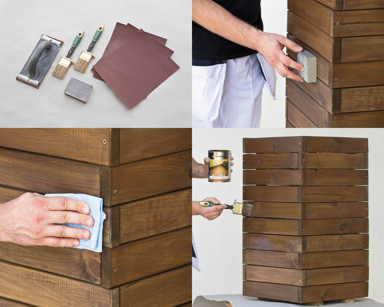4 podstawowe kroki, które należy wykonać, aby zabezpieczyć meble drewniane przed nadejściem zimy.
