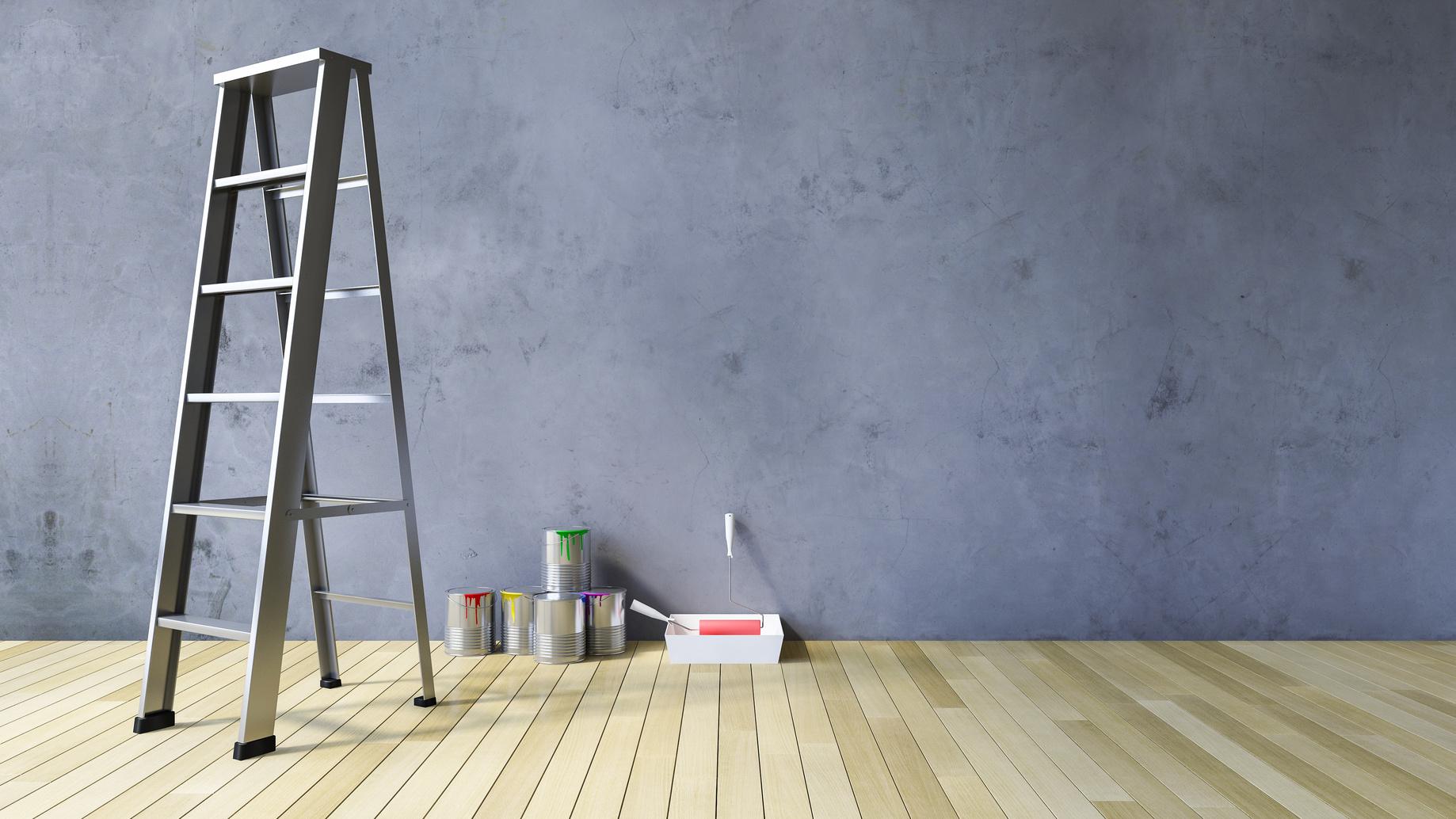 malowanie ścian farba nie schnie