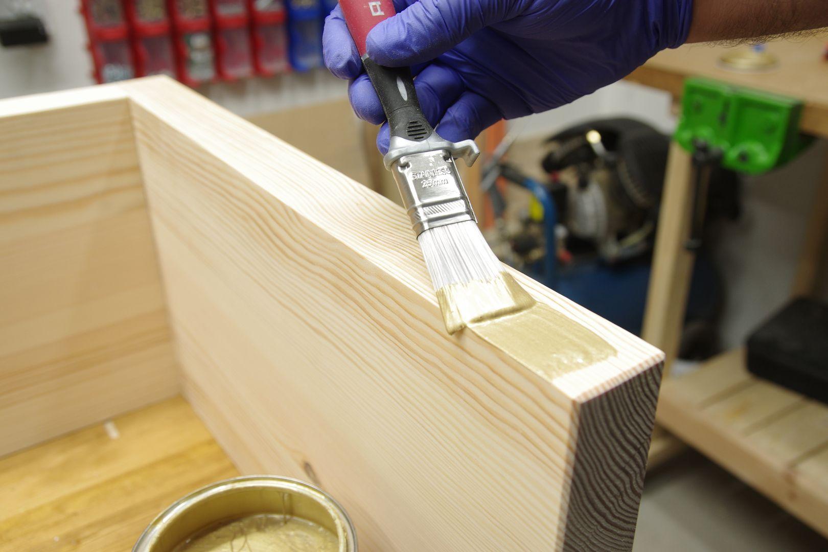 tikkurila diy malowanie drewna