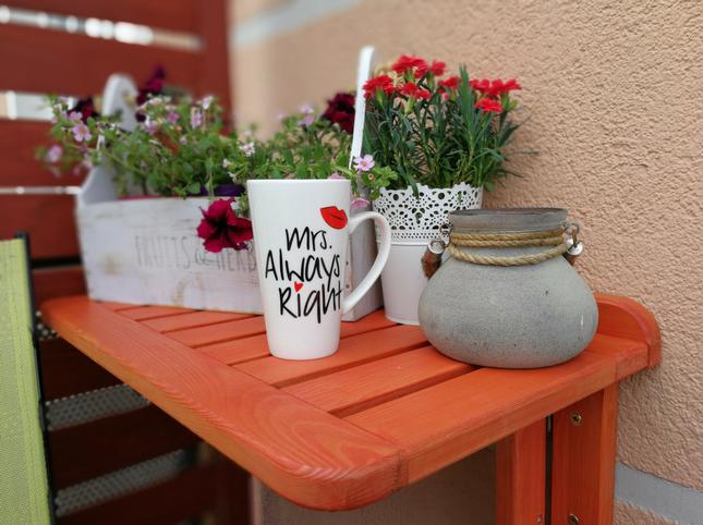 Jak Zrobić Stolik Składany Na Balkon Diy Blog Tikkurila