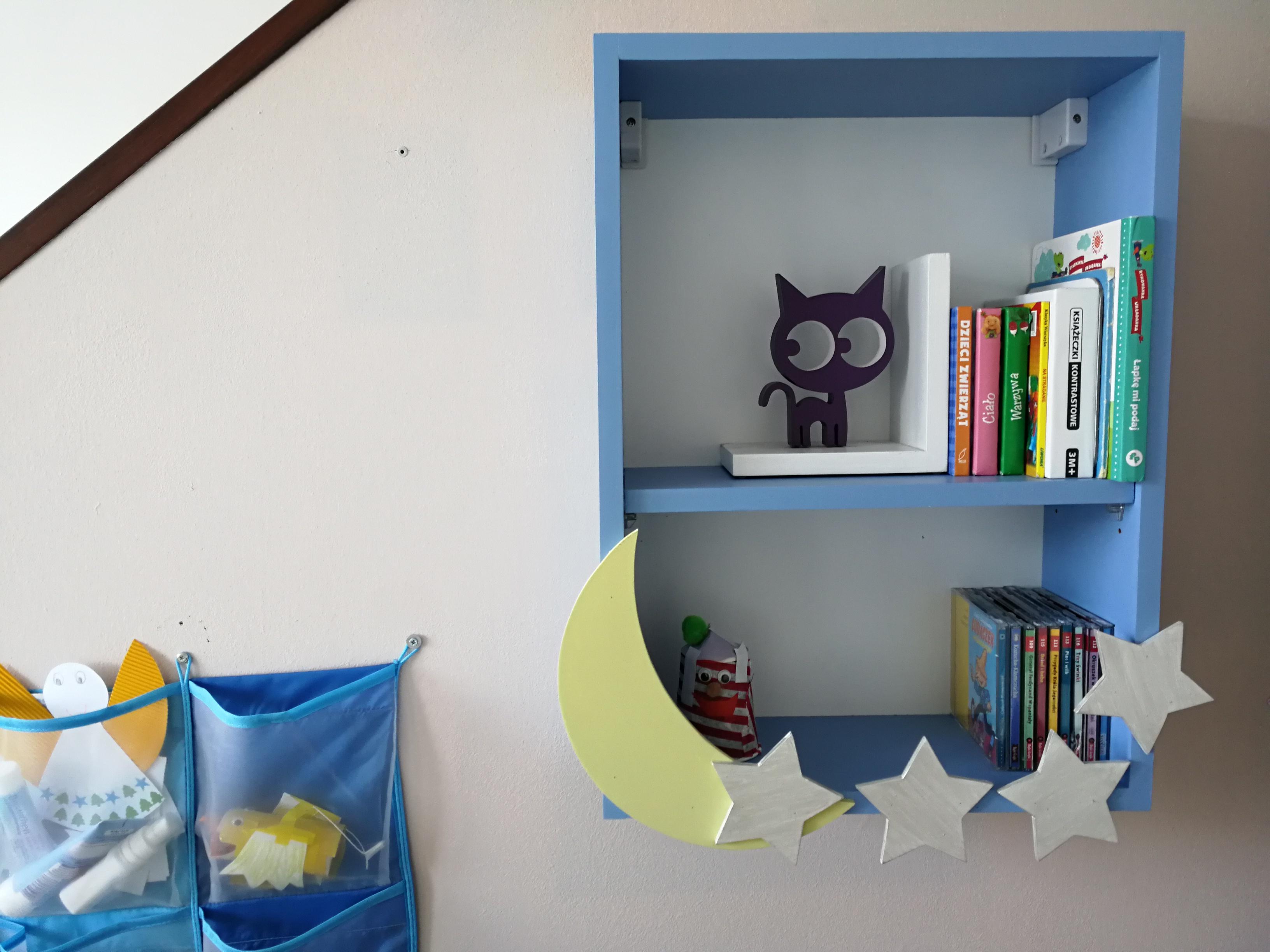 Półka Na Książki W Pokoju Dziecka Diy