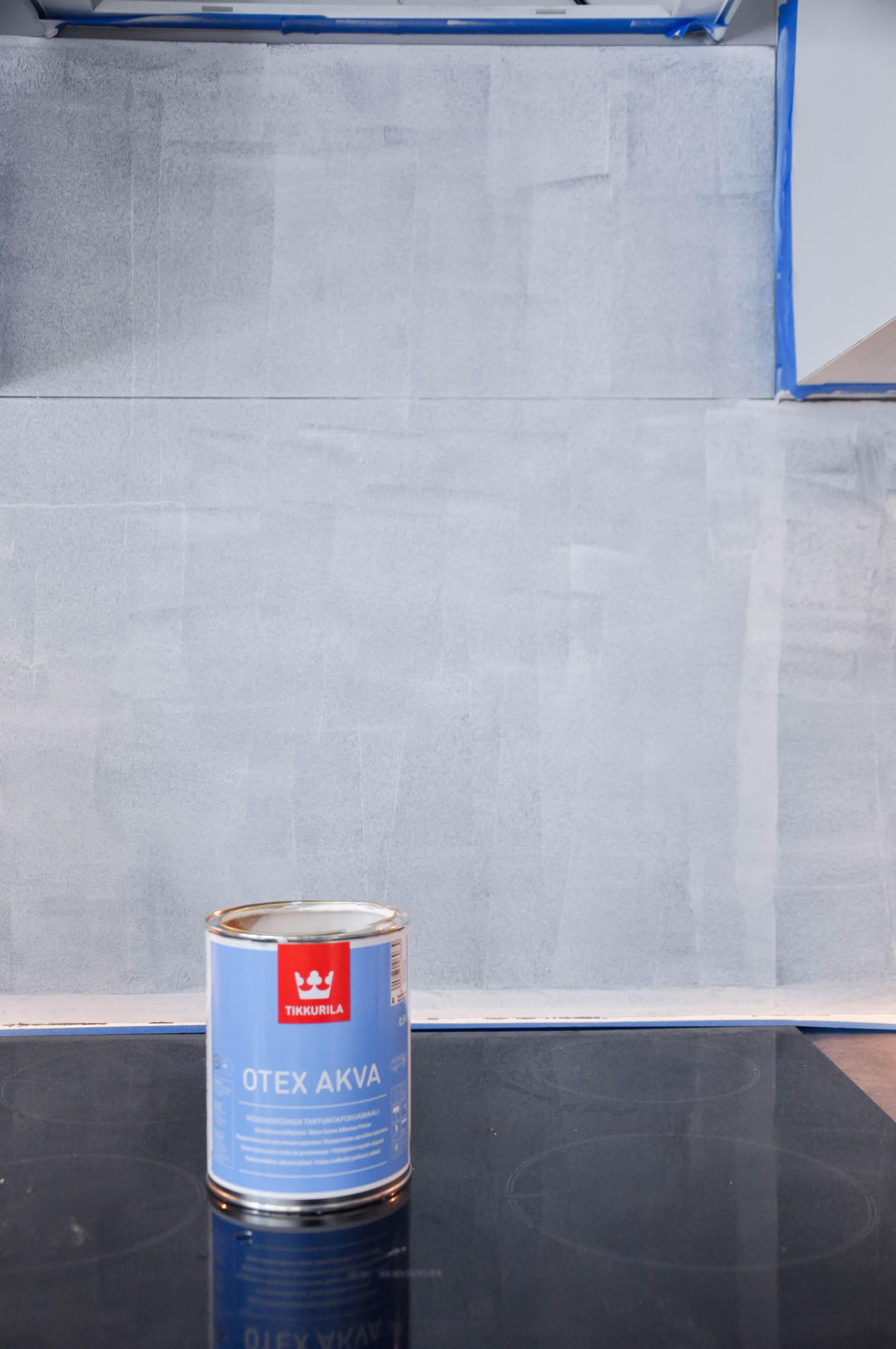 jak pomalować kafle tikkurila otex akva