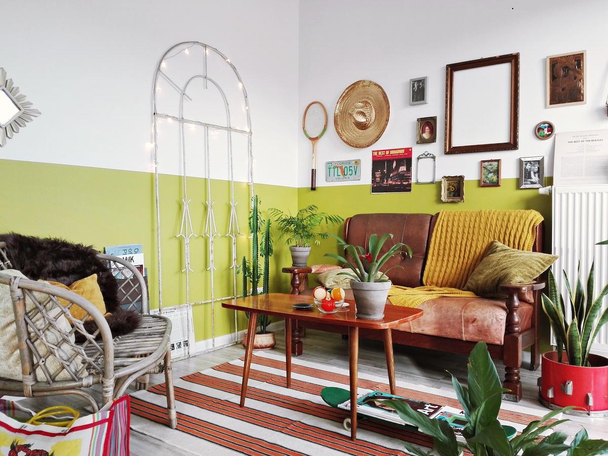 Mała Wielka Zmiana Jak Pomalować Lamperię Blog Tikkurila