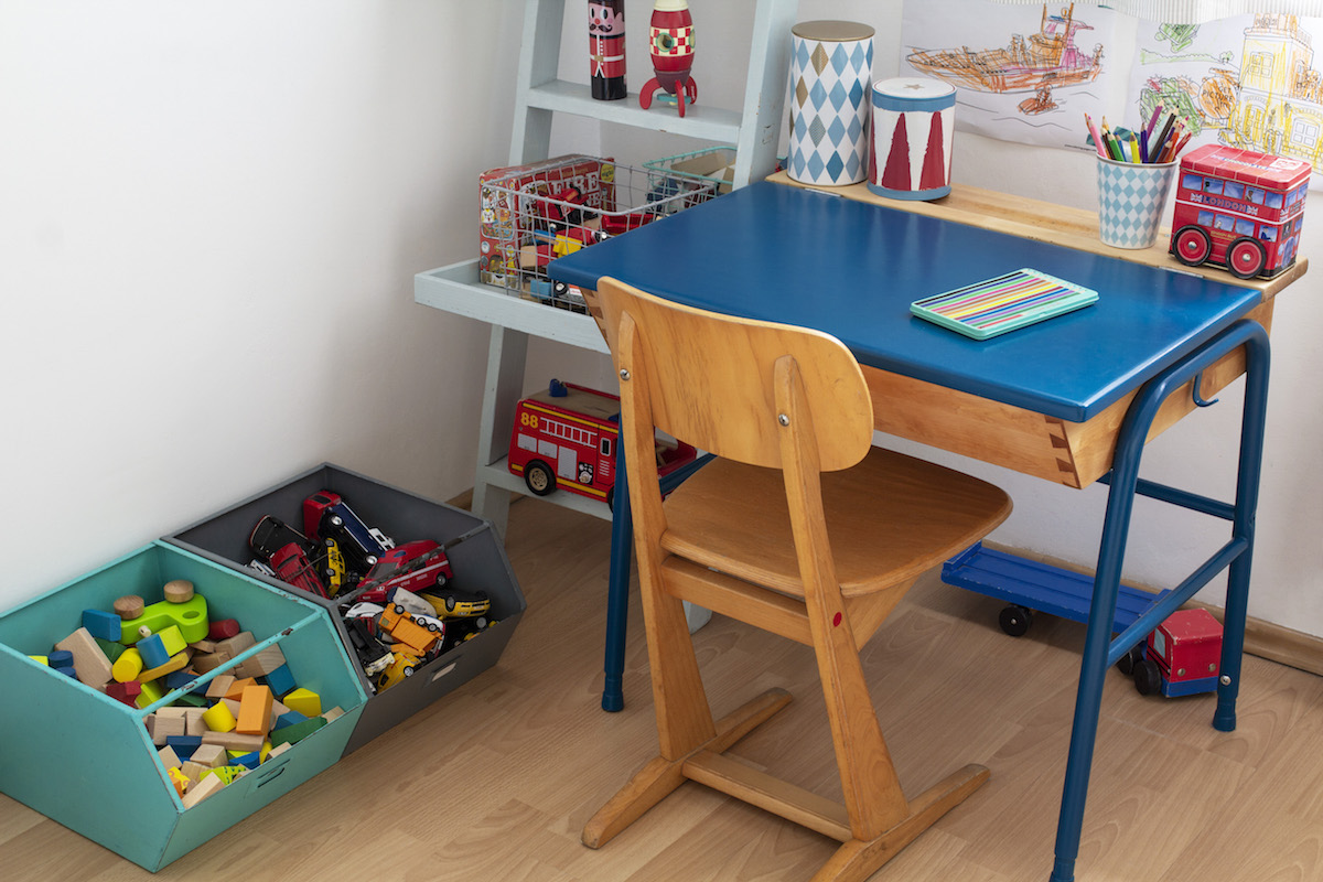 Jak Pomalować Meble Stara ławka Szkolna Blog Marki Tikkurila