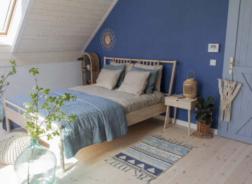 Tikkurila - niebieska sypialnia - gu tworzy 1