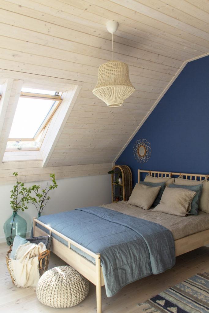 Tikkurila - niebieska sypialnia - gu tworzy 2