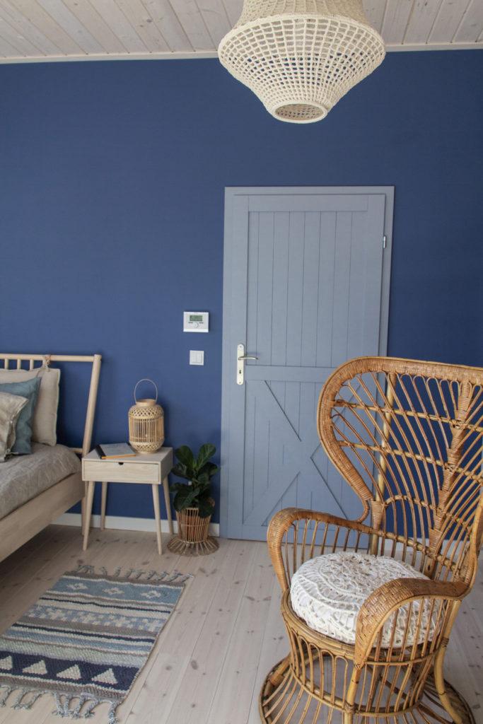 Tikkurila - niebieska sypialnia - gu tworzy 8