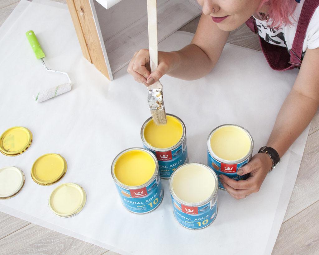 Paleta żółceni - Tikkurila Color Now 2019