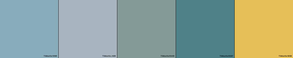 tikkurila - kolorowe drzwi - kolory