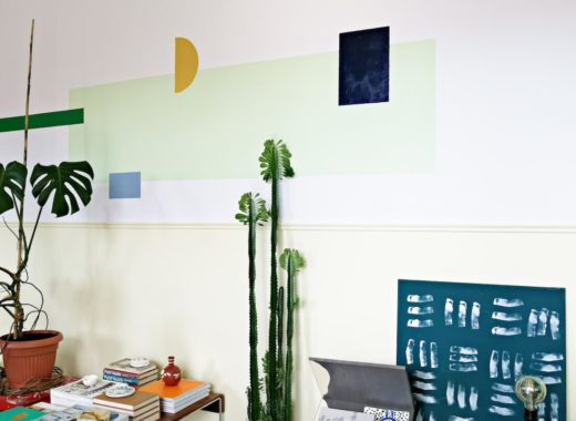 tikkurila_geometryczne-wymalowania-na-ścianach