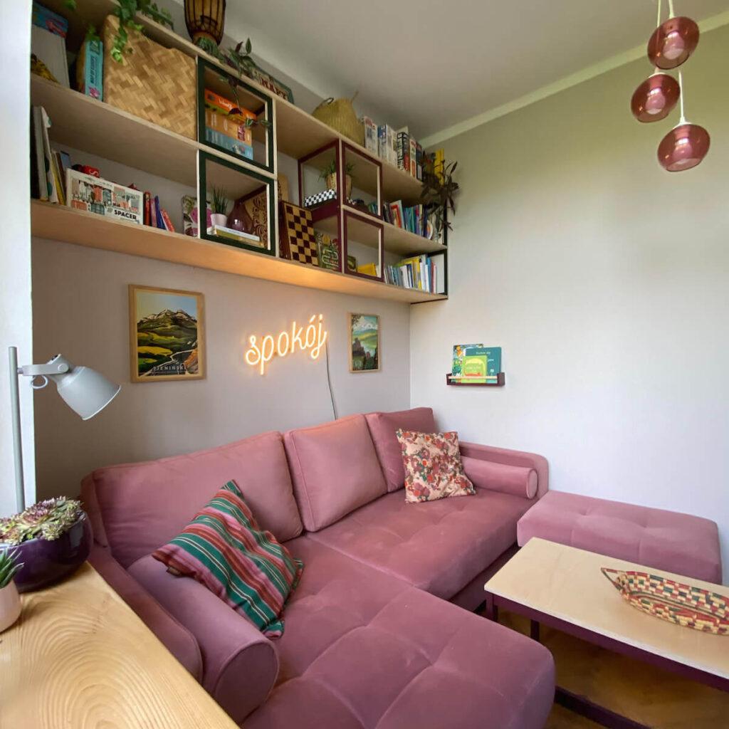 pokój-spokój kanapa