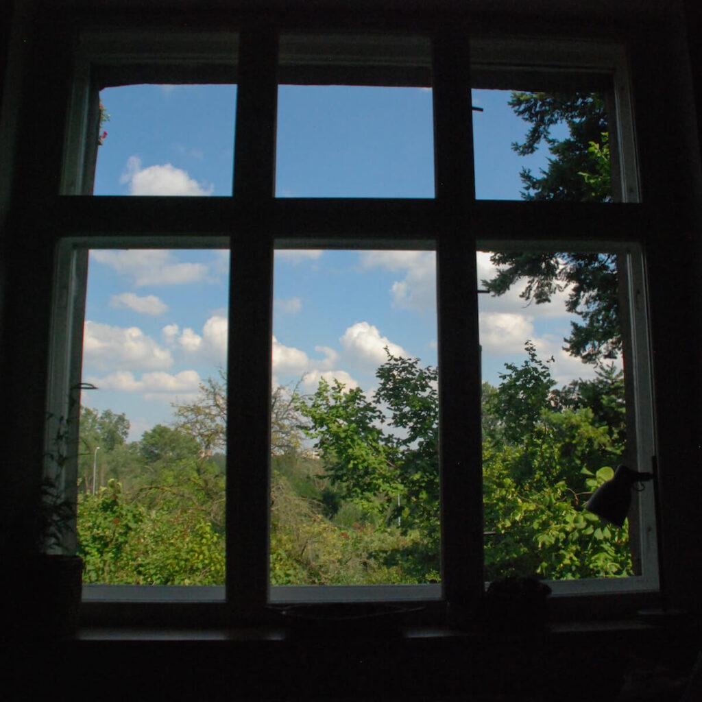 pokój-spokój okno
