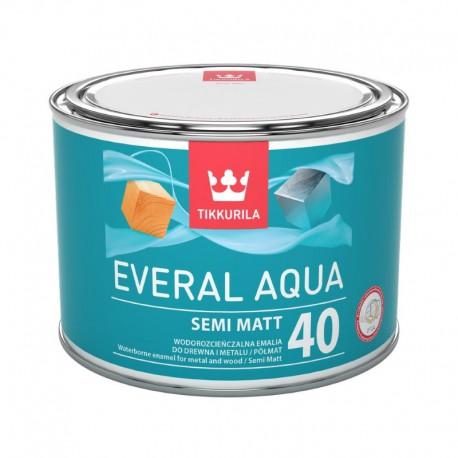 półmatowa emalia Tikkurila Everal Aqua Semi Matt 40