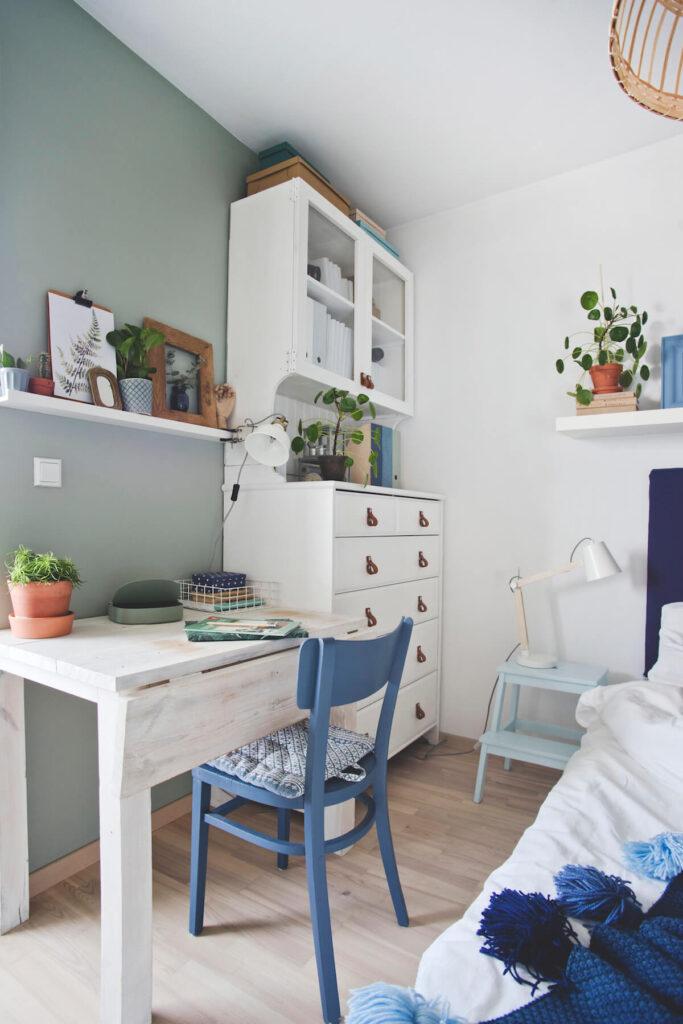 domowe biuro Colores De Mi Alma
