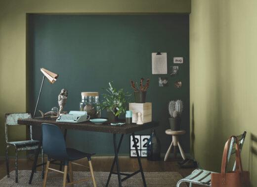 domowe biuro odcień Fjord